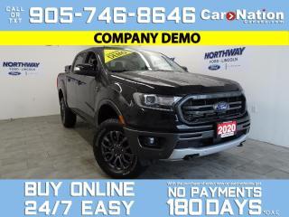 Used 2020 Ford Ranger LARIAT | 4X4 | SUPERCREW | 501A | FX4 PKG for sale in Brantford, ON