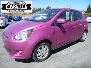 Used 2015 Mitsubishi Mirage SE for sale in East broughton, QC