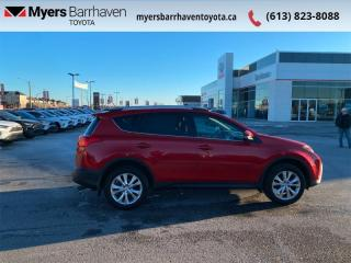 Used 2014 Toyota RAV4 LIMITED  - Navigation -  Sunroof - $138 B/W for sale in Ottawa, ON