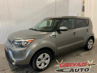 Used 2016 Kia Soul LX BLUETOOTH A/C *Transmission Automatique* for sale in Shawinigan, QC