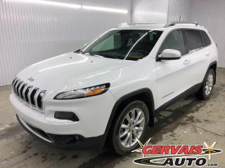 Used 2016 Jeep Cherokee Limited V6 GPS 4x4 CUIR MAGS for sale in Shawinigan, QC