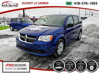 Used 2019 Dodge Grand Caravan SE* BLUETOOTH* JAMAIS ACCIDENTÉ* CAMERA for sale in Québec, QC