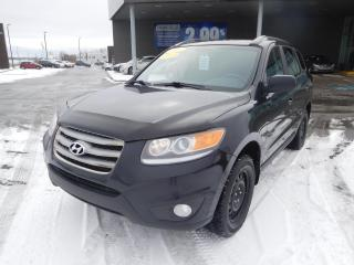 Used 2012 Hyundai Santa Fe AWD,V6,GL,Sport,A/C,CUIR/TISSUS,TOIT,BANCS CHAUFF for sale in Mirabel, QC
