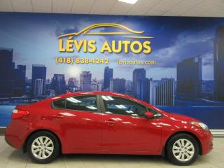 Used 2016 Kia Forte LX MANUEL BLUETOOTH TRES PROPRE for sale in Lévis, QC