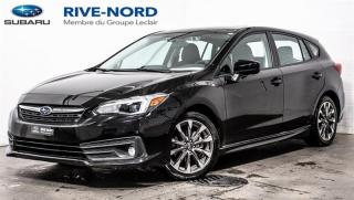 Used 2020 Subaru Impreza Sport  EyeSight TOIT.OUVRANT+SIEGES.CHAUFFANTS for sale in Boisbriand, QC
