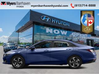 New 2021 Hyundai Elantra Preferred IVT  - Android Auto - $144 B/W for sale in Nepean, ON