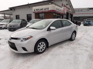 Used 2016 Toyota Corolla Berline 4 portes, boîte automatique, CE for sale in Sherbrooke, QC