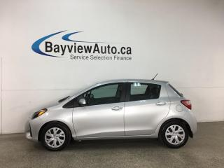 Used 2019 Toyota Yaris LE - AUTO! REVERSE CAM! HTD SEATS! + MORE! for sale in Belleville, ON