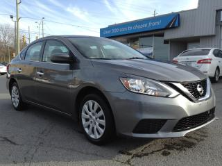 Used 2018 Nissan Sentra 1.8 SV HEATED SEATS, BACKUP CAM, POWERGROUP!! for sale in Richmond, ON