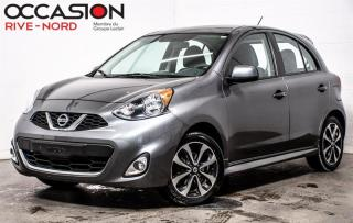 Used 2017 Nissan Micra SR MAGS+CAM.RECUl+BLUETOOTH for sale in Boisbriand, QC