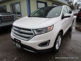 Used 2016 Ford Edge ALL-WHEEL DRIVE SEL EDITION 5 PASSENGER 3.5L - V6.. NAVIGATION.. LEATHER.. HEATED SEATS & WHEEL.. BLUETOOTH SYSTEM.. SUNROOF.. BACK-UP CAMERA.. for sale in Bradford, ON