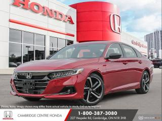 New 2021 Honda Accord SE 1.5T APPLE CARPLAY™ & ANDROID AUTO™ | HEATED SEATS | HONDA SENSING TECHNOLOGIES for sale in Cambridge, ON