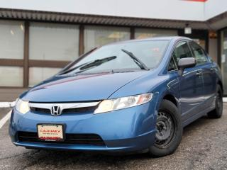 Used 2008 Honda Civic DX-G ABS | Alloys | Power Windows and Locks for sale in Waterloo, ON