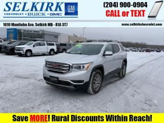 Used 2018 GMC Acadia SLE  - Sunroof - Heated Seats for sale in Selkirk, MB