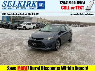 Used 2019 Toyota Corolla LE Upgrade Package  *HTD SEATS, SUNROOF* for sale in Selkirk, MB