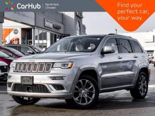 Used 2020 Jeep Grand Cherokee Summit 4x4 Heated & Vented Signature Leather for sale in Thornhill, ON