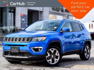 Used 2020 Jeep Compass Limited 4x4 Heated Seats & Wheel Navigation Backup Camera for sale in Thornhill, ON