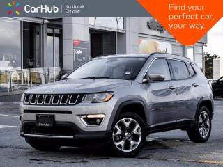 Used 2020 Jeep Compass Limited 4x4 Heated Seats & Wheel Bluetooth Backup Camera for sale in Thornhill, ON