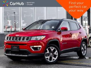 Used 2020 Jeep Compass Limited 4x4 Heated Seats & Wheel Navigation Bluetooth for sale in Thornhill, ON