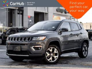Used 2020 Jeep Compass Limited 4x4 Heated & Vented Seats Bluetooth Backup Camera for sale in Thornhill, ON