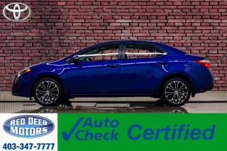Used 2016 Toyota Corolla S Manual Leather Roof BCam for sale in Red Deer, AB