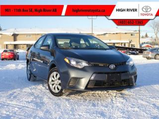 Used 2016 Toyota Corolla LE for sale in High River, AB