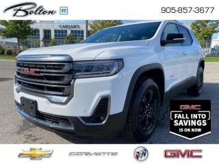 New 2021 GMC Acadia AT4 - $303 B/W for sale in Bolton, ON