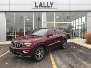 Used 2018 Jeep Grand Cherokee Sunroof | Rev CAm | Leather | Nav for sale in Tilbury, ON