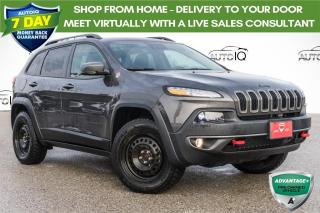 Used 2018 Jeep Cherokee Trailhawk VERY LOW KMS!! 2 SETS OF TIRES AND RIMS!! for sale in Barrie, ON