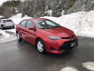 Used 2017 Toyota Corolla LE Heated Seats! Bluetooth! Snow Tires on Rims! for sale in Sudbury, ON
