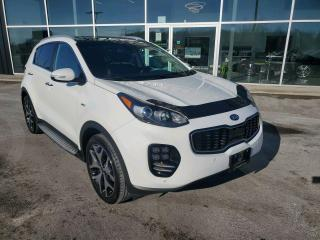 Used 2017 Kia Sportage SX Turbo 1 OWNER, WINTER TIRES, NAV, PANO SUNROOF, HTD SEATS! for sale in Ingersoll, ON