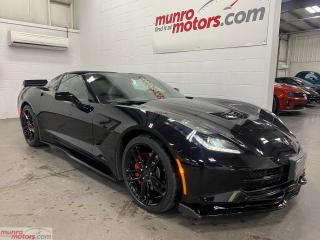 Used 2019 Chevrolet Corvette Stingray Cpe w-1LT NPP Exhaust OneOwnerNoAccidents for sale in St. George, ON