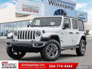 New 2021 Jeep Wrangler Unlimited Sahara for sale in Winnipeg, MB