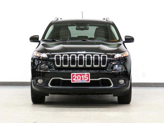 2015 Jeep Cherokee Limited 4WD Navigation Leather Backup Camera