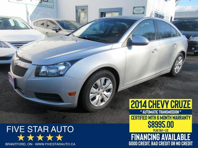 2014 Chevrolet Cruze 1LT - Certified w/ 6 Month Warranty