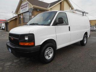 2010 Chevrolet Express 2500HD Cargo Rack Divider Shelving ONLY 93,000Km