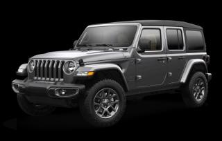 New 2021 Jeep Wrangler Unlimited Sport 80th Anniversary for sale in Winnipeg, MB