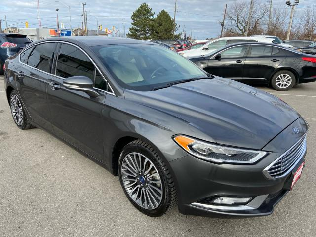 2018 Ford Fusion Titanium **AWD, HTD/AC LEATH, REV CAM, AUTOSTART**