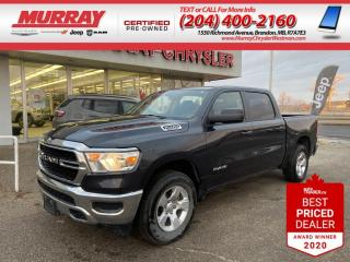 Used 2019 RAM 1500 * Back Up Camera* * Pushbutton Start* * Bluetooth* for sale in Brandon, MB