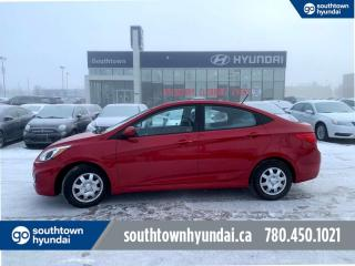 Used 2017 Hyundai Accent GL/BLUETOOTH/HEATED SEATS/POWER OPTIONS for sale in Edmonton, AB