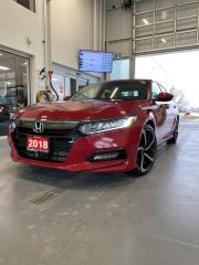 Used 2018 Honda Accord SDN SPORT-HS 1.5T for sale in Woodstock, ON
