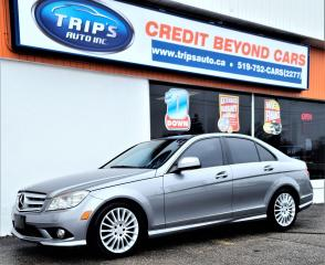 Used 2009 Mercedes-Benz C-Class 2.5L for sale in Brantford, ON