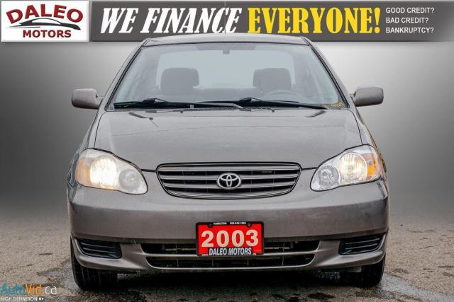 2003 Toyota Corolla CE / BUCKET SEATS/ Photo2