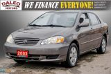 2003 Toyota Corolla CE / BUCKET SEATS/ Photo30