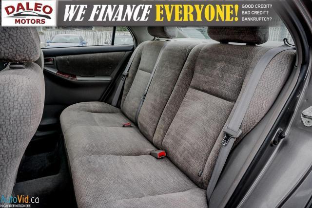 2003 Toyota Corolla CE / BUCKET SEATS/ Photo13