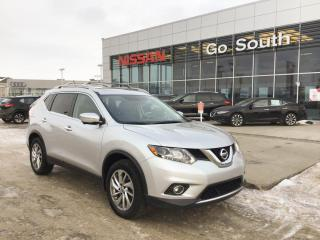 Used 2015 Nissan Rogue SL, LEATHER, AWD, NAVIGATION for sale in Edmonton, AB