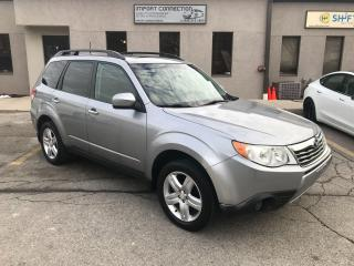 Used 2010 Subaru Forester LIMITED,LEATHER,SUNROOF!NO ACCIDENTS! for sale in Burlington, ON
