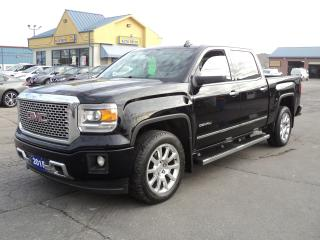 Used 2015 GMC Sierra 1500 Denali CrewCab4x4 6.2L 5.5ftBoxNavRoofLeather for sale in Brantford, ON