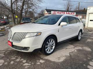 Used 2011 Lincoln MKT 6Passenger/AWD/Nav/Bckup Camera/Panoroof/Certified for sale in Scarborough, ON