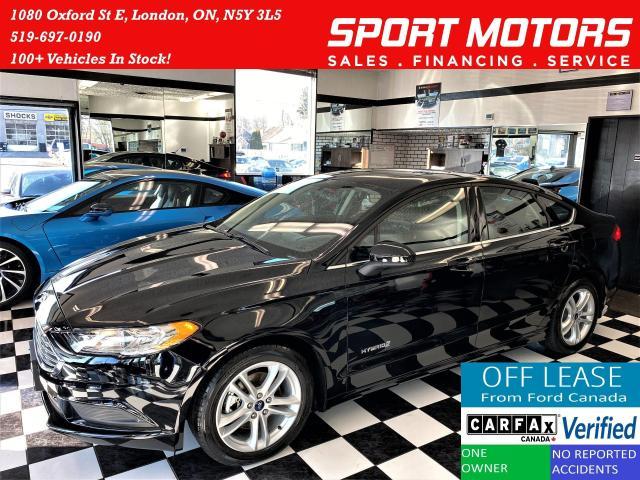 2018 Ford Fusion Hybrid SE Hybrid+Sunroof+Camera+ACCIDENT FREE